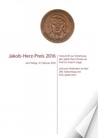 "Towards entry ""Festschrift Jakob Herz Prize 2016"""